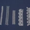 Metrske čipke različne