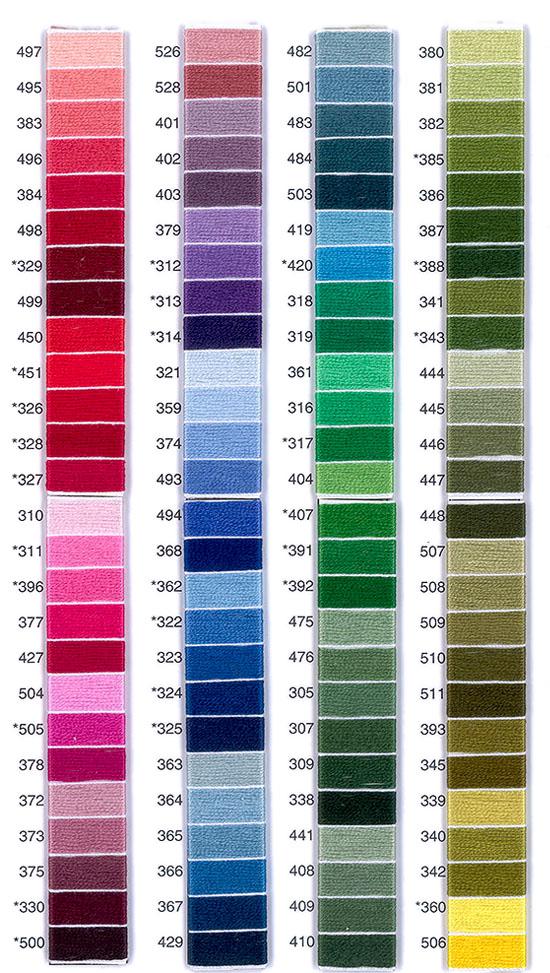 Barvna karta prejica Ljubica